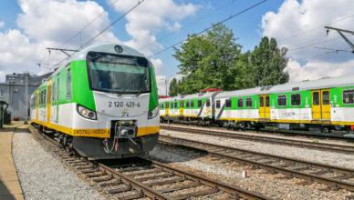 Rozkład jazdy pociągów Kolei Mazowieckich