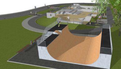 Skatepark w Zielonce