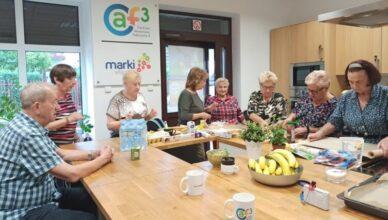 Aktywni seniorzy w kuchni CAF3