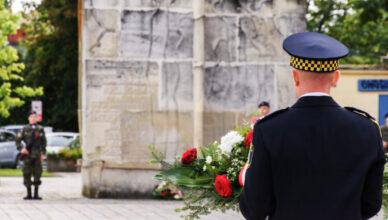 Obchody 82. rocznicy wybuchu II Wojny Światowej w Wołominie