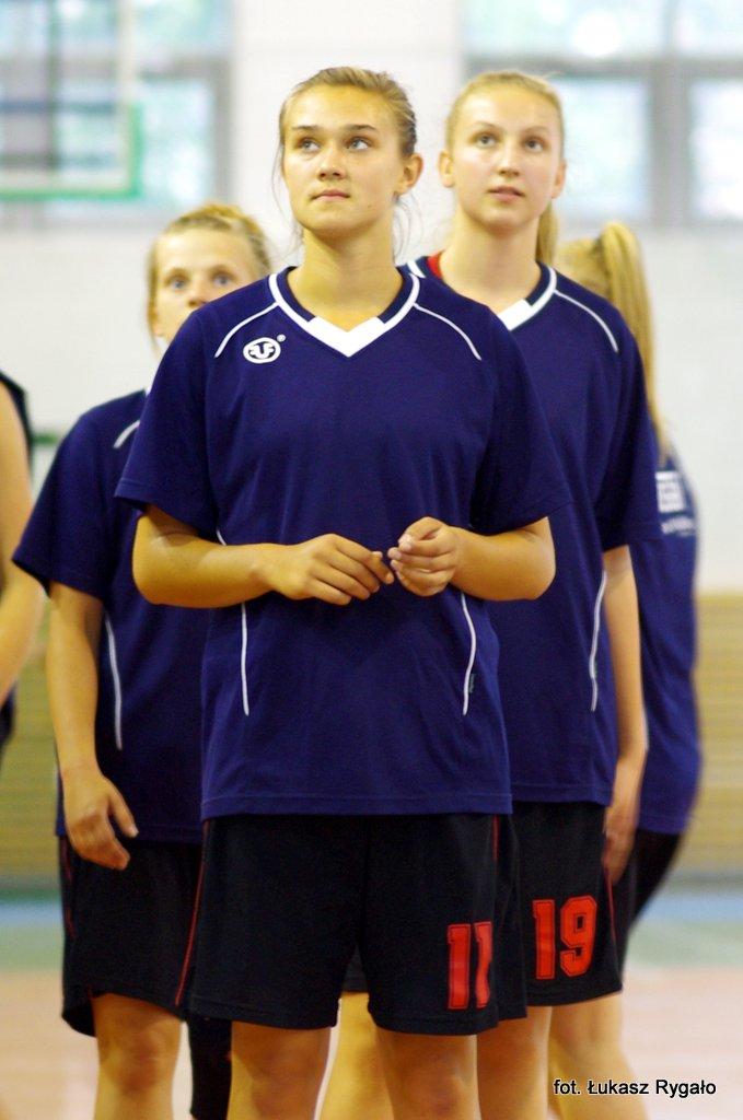 Monika Radomska i Wiktoria Skuzińska