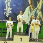 Ania na podium