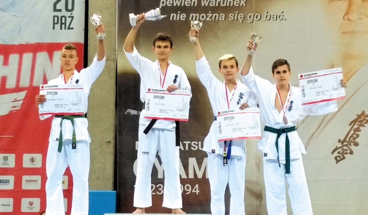 Bartek na podium II miejsce