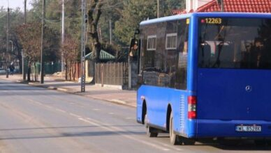 Zmiana tras autobusów linii L w Wołominie