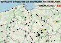 Policyjna mapa wypadków drogowych