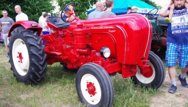 V Zlot Starych Traktorów na Mazowszu