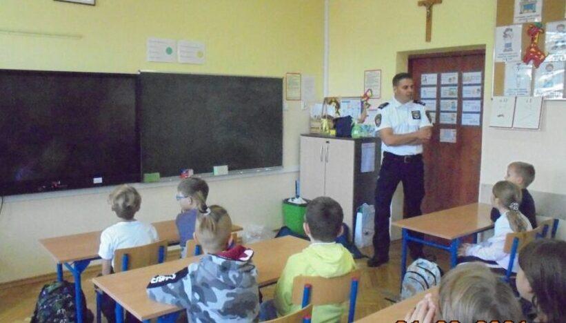 Straż Miejska edukuje dzieci z Ząbek